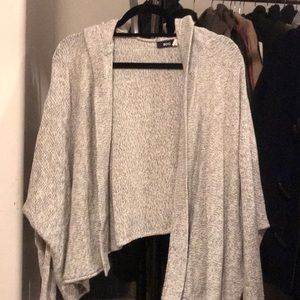 Tops - BDG hooded knit cardigan